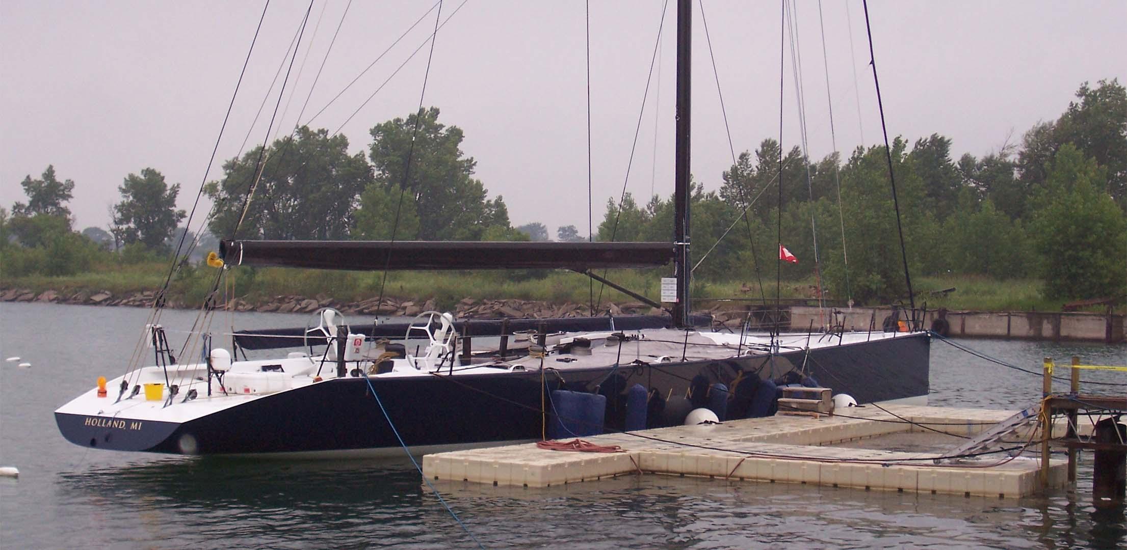 EZ Dock Marina Work Platform