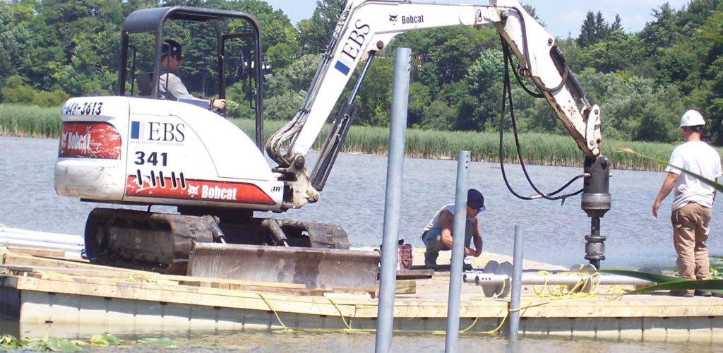 EZ Dock Floating Work Platform