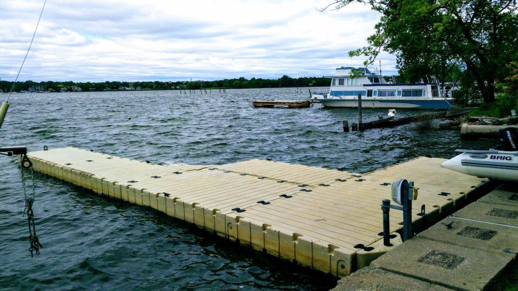 EZ Dock Stable in Rough Water