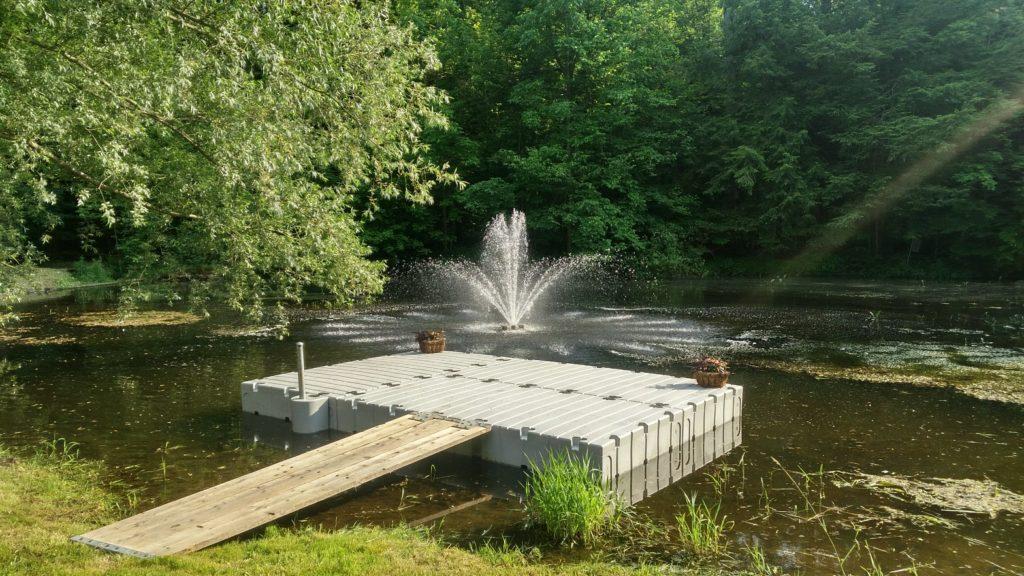 10 x 15 EZ Dock Platform