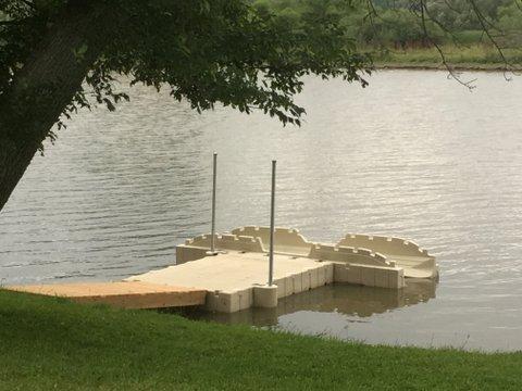 Launch Your Kayak EZ Dock